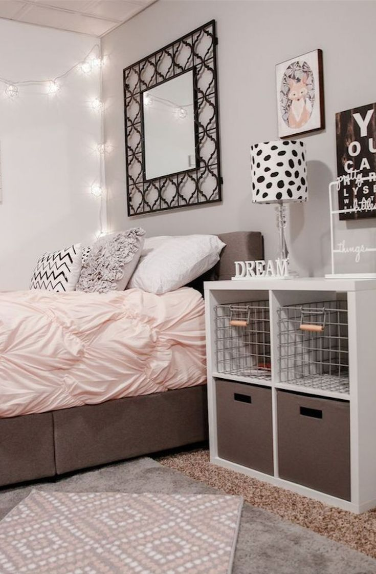 Nailing down a cohesive look for a teenage girl's bedroom can be very  difficult. See the best teen girl bedroom ideas for 2017 and pick your  favorite.