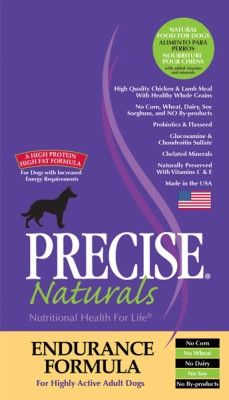 PRECISE DOG DRY - PRECISE ENDURANCE 30/20 DOG - 40 LB - ANF Pet, Inc. - UPC: 72693177604 - DEPT: OTHER PET FOODS
