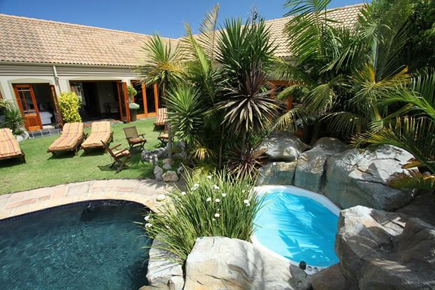 Villachad Guest House has a definite mix of African elegance with Bali ambienc. #Kleinmond