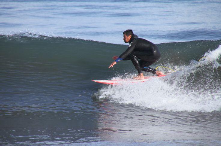 El Mediterráneo se porta bien con los #surfistas de #Mallorca