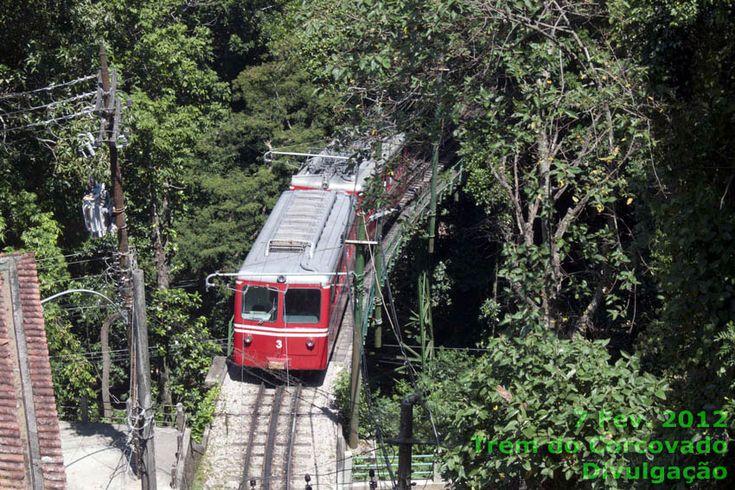 Rio de Janeiro - Trem do Corcovado e Cristo Redentor