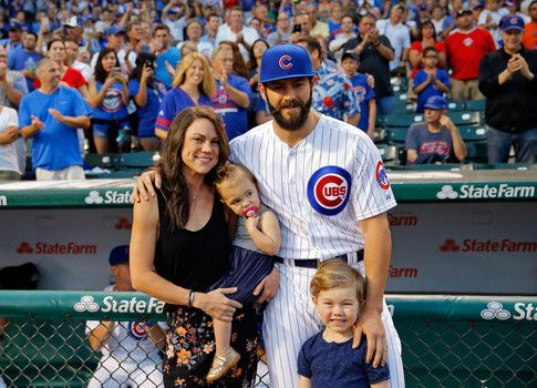 Hottest photos of Brittany Young wife of Chicago Cubs Jake Arrieta in 2015