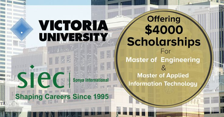 Victoria Univesrity Announces Special Scholarship Programs