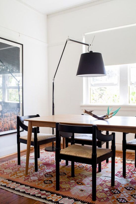 17 best ideas about arc floor lamps on pinterest target for Creative dining room table ideas