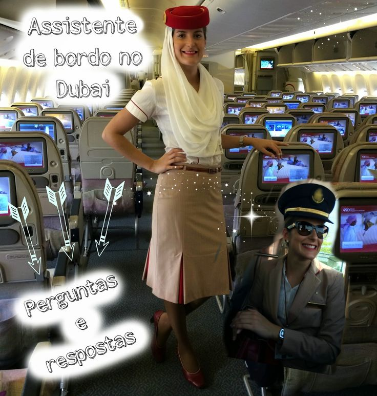 I am Mafalda: Flight attendant  in Dubai