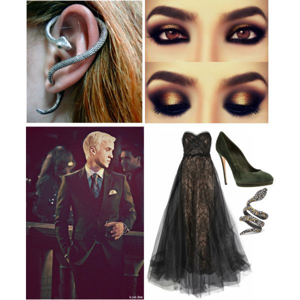 """The Yule ball with draco"" by bradfordbadboi on Polyvore"
