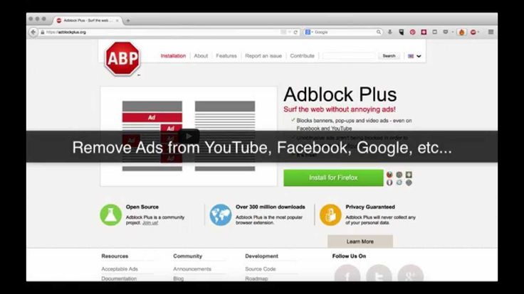 Links included in this video: https://adblockplus.org/  This tutorial will show you how to remove ads from your browser quickly and easily. This a a secure solution that is safe and straightforward. It will work on Firefox, Chrome, and Internet Explorer to remove ads on YouTube, Google, Facebook and other social media, and it will remove commercials from your favorite online TV channels.