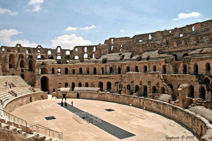 Gladiator arena - El Jem, Mahdia