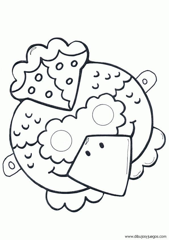 mascaras-recortables-animales-022 | Dibujos y juegos, para pintar y colorear