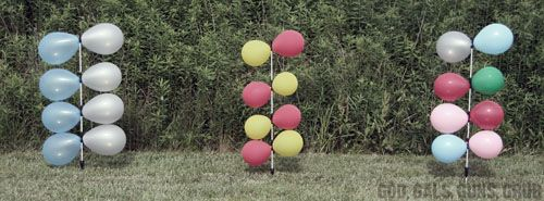 God, Gals, Guns, Grub: Five-Bucks: Balloon Dueling Tree.