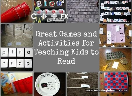 games and activities to help kids learn to read