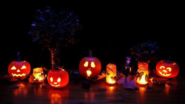 Halloween - dekoracje z dyń