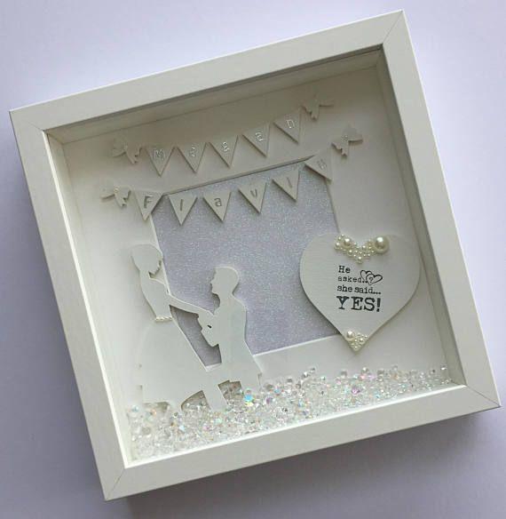Engagement Frame Stunning Gift For The New Engaged Happy Frame Engagement Frames Wedding Frames