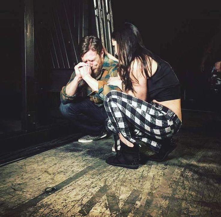 Daniel Bryan & Brie Bella after Bryan retired #WWE