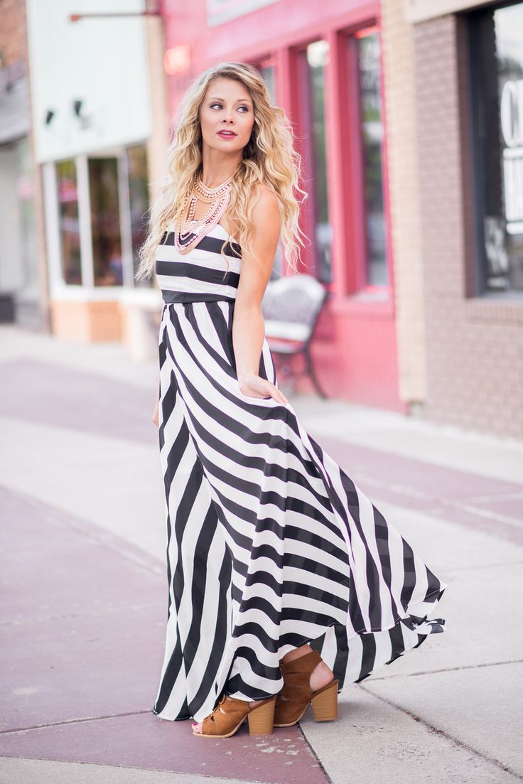 Okay Ladies!! This Maxi Dress is so  cute and a must have for your closet. Shop NanaMacs to get your Chevron Carpet Glam Maxi Dress. Only fifty bucks!! (http://www.nanamacs.com/chevron-carpet-glam-maxi-dress-black/)