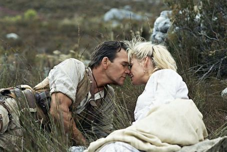 Alison Doody and Patrick Swayze in King Solomon's Mines (2004)