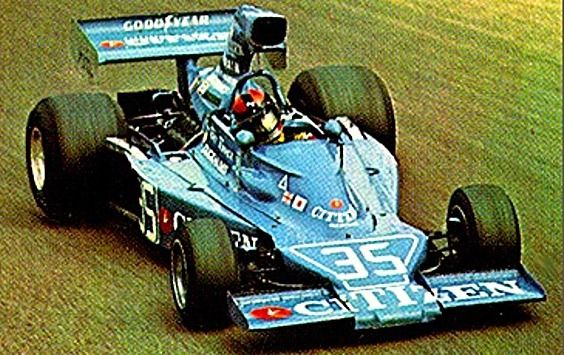 1975 Maki FC101C - Ford (Tony Trimmer)