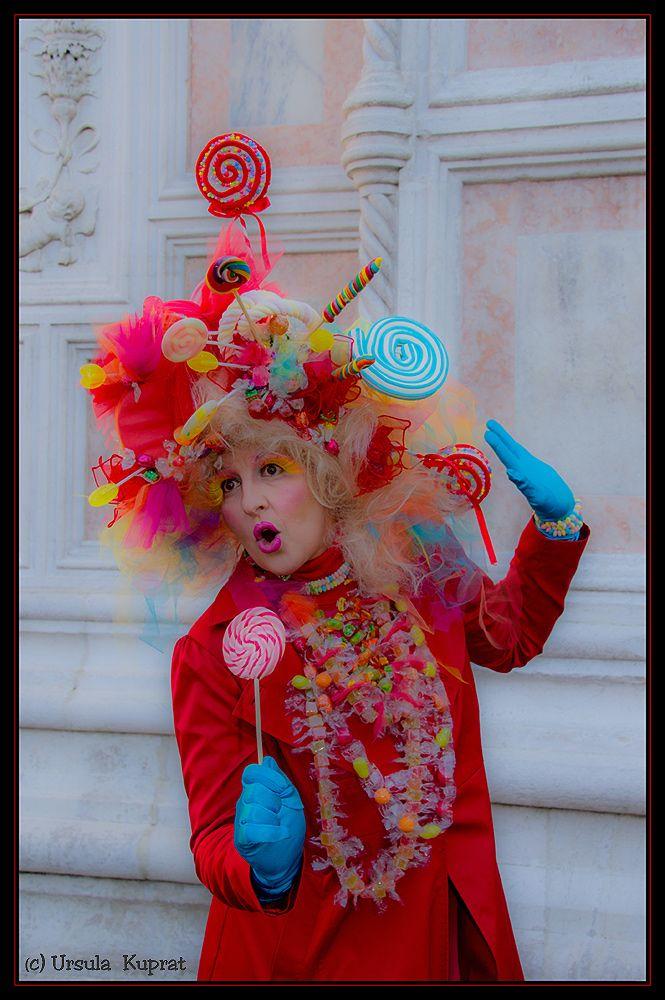 Bonbon Lady * 2 by Ursula Kuprat