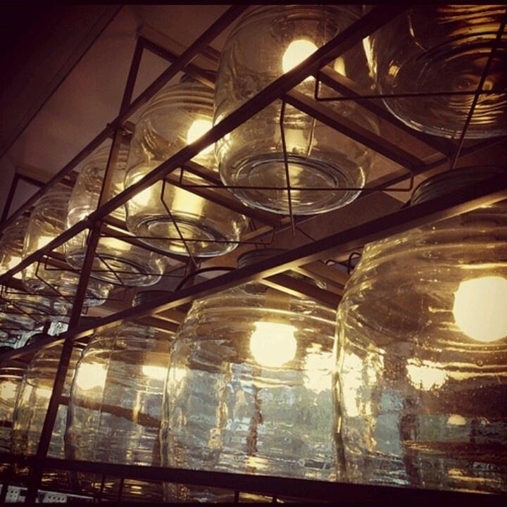 Cafe lighting | Cafe Culture & Design | Pinterest | Lighting