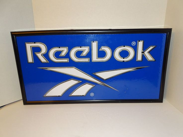ELECTRIC REEBOK COMMERCIAL SIGN  | eBay