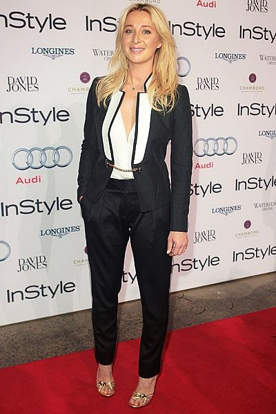 Asher Keddie in Gucci: For more from the Women of Style red carpet see http://www.instylemag.com.au/Gallery/Women-of-Style-red-carpet-2012: Women Tuxedo, Style Red, Asherkeddi Styleicon, Style Awards, Instyle Women, Tuxedos Ideas