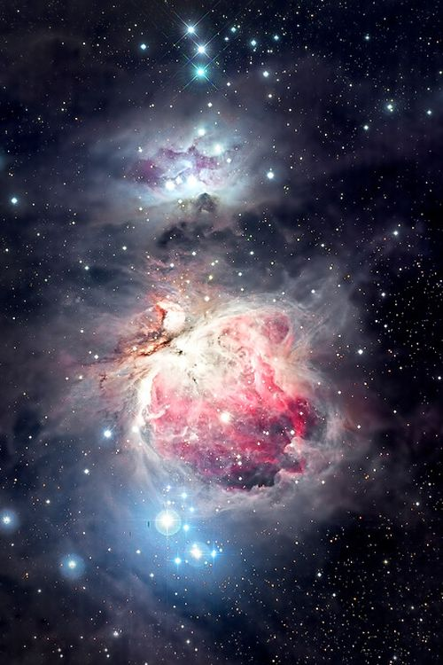 Orion Nebula (M42) and Reflection Nebula (M78) by Justin Ng IF YOU DONT BELIEVE IN GOD YOU ARE CRAZY