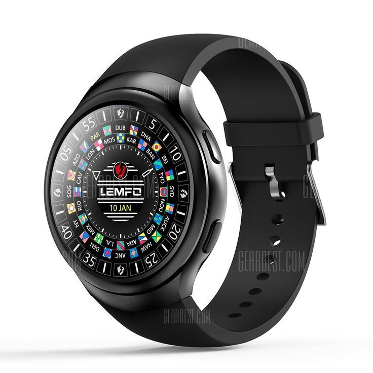 🏷️🐼 LEMFO LES2 3G Smartwatch Phone-BLACK - 98.17€    Tips: Unlocked for Worldwide use. Please ensure local area network is compatible. click here for Network Frequency of your country. Please check with your carrier/provider before purchasing this item. LEMFO LES2 3G Smartwatch Phone 1.3 inch IPS Screen Android 5.1 MTK6580 Quad Core 1.3GHz 1GB...  #BonsPlans, #Deals, #Discount, #Gearbest, #LEMFO, #Promotions, #Réduc