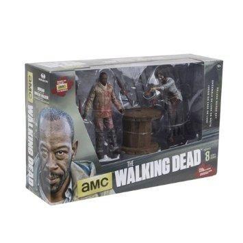 The Walking Dead - Morgan Jones w Impaled Walker N Spike Trap Action Figure Set