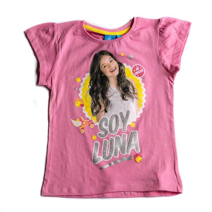 Tricou Disney Soy Luna roz