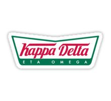 Kappa Delta Krispy Kreme Sticker