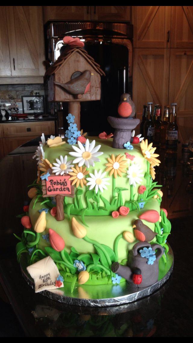 Flower Garden Cake Ideas Photograph Flower Garden Cake C