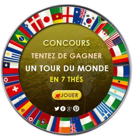 Grand Jeu Concours Kawateachoc : Tentez de gagner un tour du monde en 7 thés !