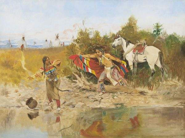 28 Best Charles Russell Western Artist Images On Pinterest