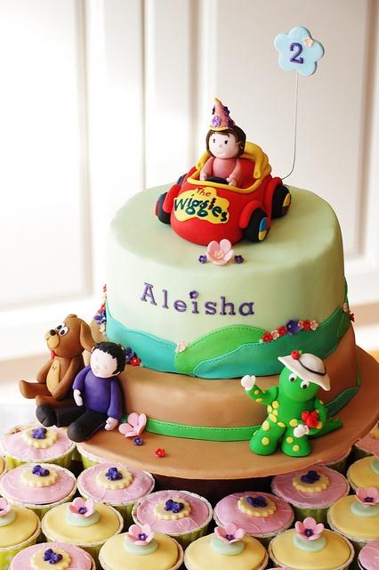 Emma Wiggle Birthday Cake