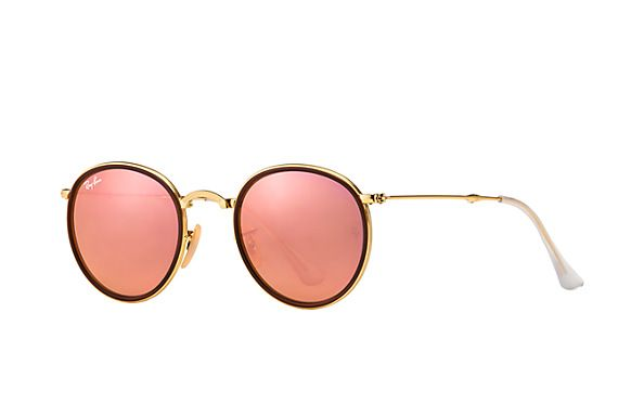 Ray-Ban 0RB3517  - ROUND FOLDING FLASH LENSES SUN | Official Ray-Ban Online Store