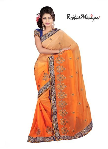 #Ready To Ship #Fancy #Saree !!  #Free #Shipping !! Free #COD !!  Click here to #shop : http://bit.ly/1VeBHbu #WhatsApp Us To Buy On : 093744 77776