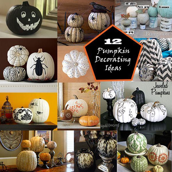12 Unique Pumpkin Decorating Ideas at Dakota Creek Chic