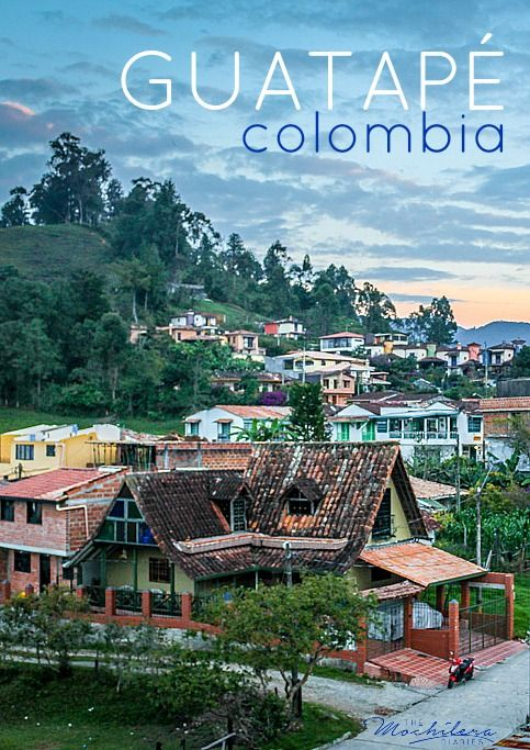 Guatapé, Colombia, just over an hour's drive from Medellin, is the perfect place to escape the hustle and bustle of city life. Drink amazing coffee, rent bicycles, or just relax and be lazy | The Mochilera Diaries
