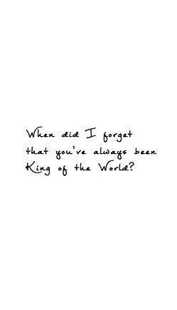 Natalie Grant: King of the World