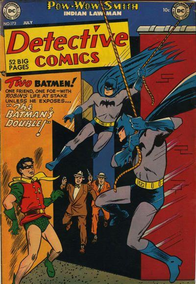 Detective Comics #173 - July 1951 Cover Artist: Win Mortimer