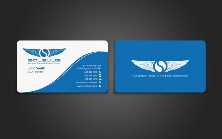 Solsuus Business Cards by chandrayaan.creative
