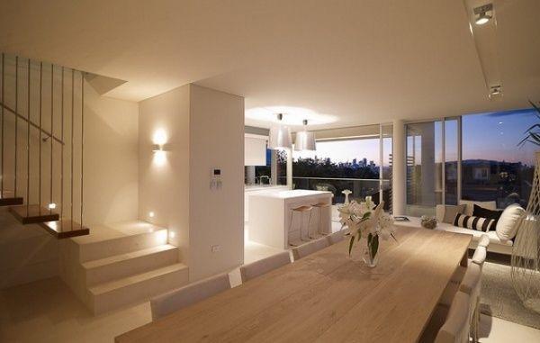 Contemporary interior design lighting
