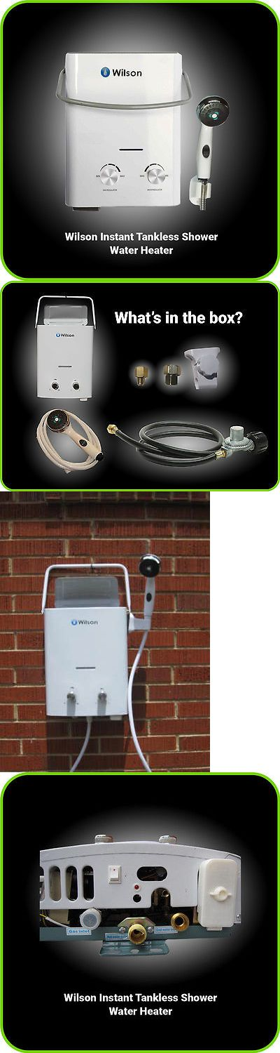 Other Camping Hygiene Accs 181400: Camping Shower Hot Water Heater Tankless Portable Propane Lp Gas -> BUY IT NOW ONLY: $109.99 on eBay!