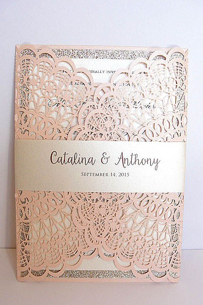 best 25+ invitation for wedding ideas on pinterest | purple blush, Wedding invitations