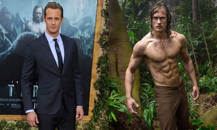 Alexander Skarsgard on getting in shape for The Legend of Tarzan - Photo 1