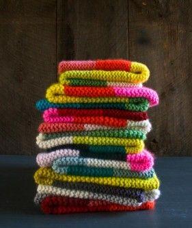 Super Easy Crib Blanket in Super Soft Merino's Newest Colors