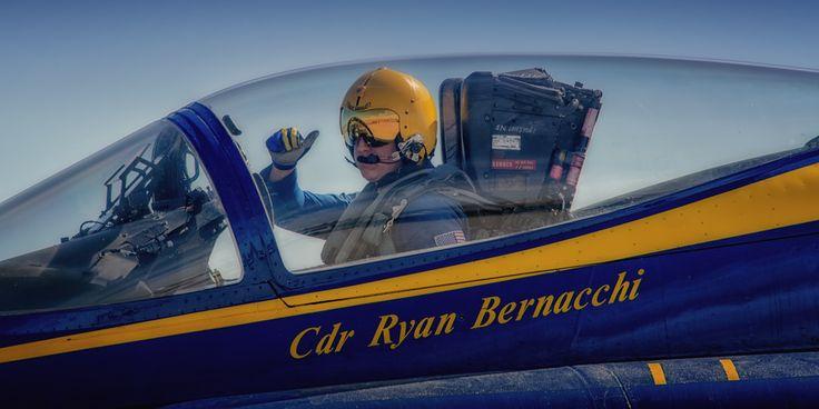 https://flic.kr/p/SNhHVw | boss | Cdr Ryan J. Bernacchi US Navy Blue Angels Flight Leader / Commanding Officer  www.ottosenphotography.com | © Matt Ottosen