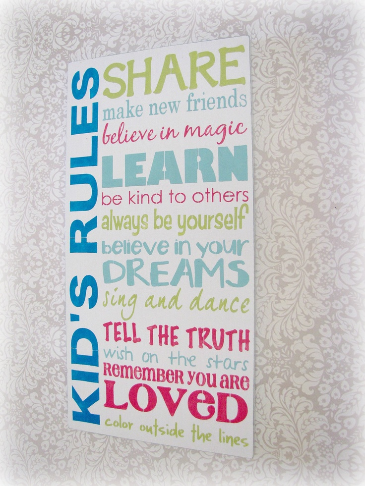 1000+ images about House Rules on Pinterest | Charts, For ...