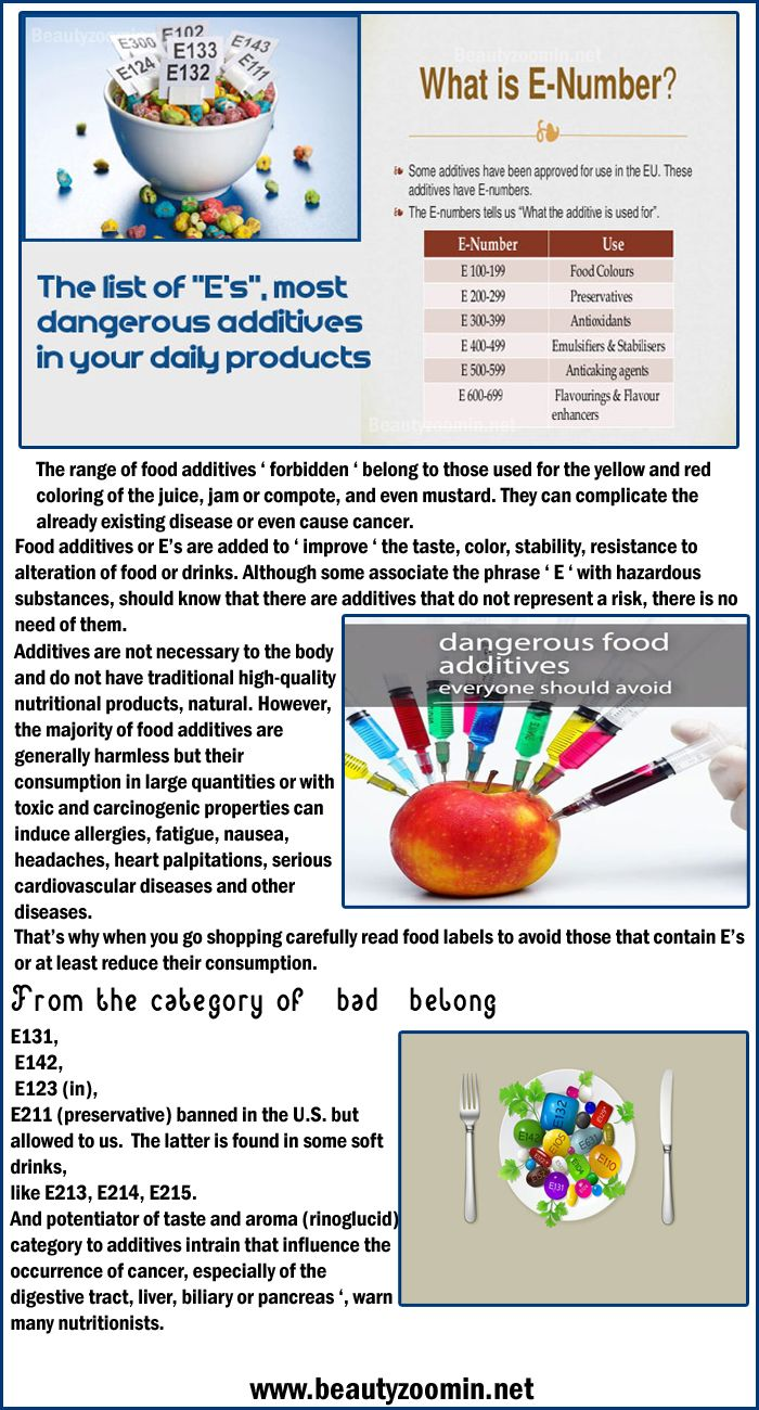 The List Of E S Most Dangerous Additives In Your Daily Products Food Additives Red Food Food
