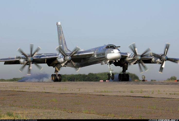 Russia - Air Force Tupolev Tu-95MS BEAR Bomber